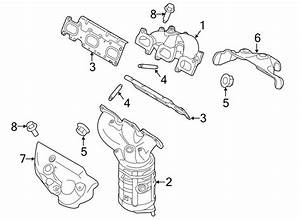 Ford Flex Catalytic Converter With Integrated Exhaust