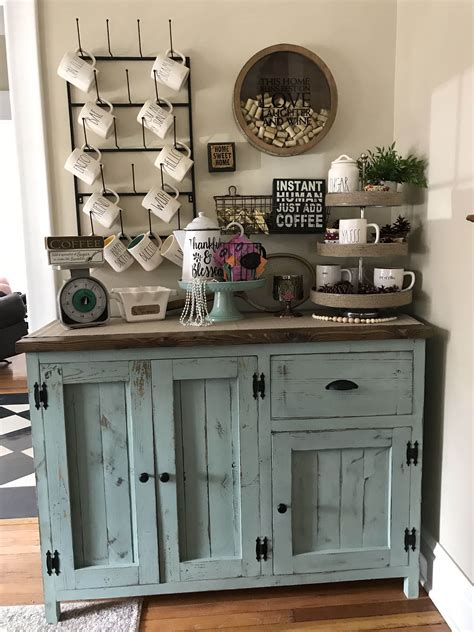 There are several bar cabinet ideas for all those of you who don't have the space for a large bar for coffee and wine places. Eye-Opening Coffee Bars You'll Want for Your Own Kitchen ...