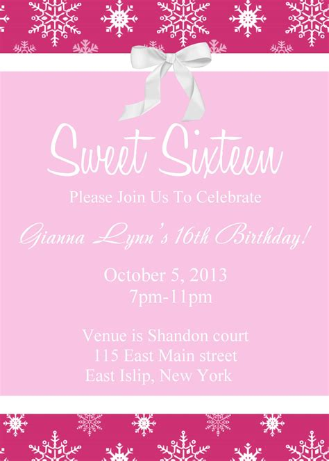 sweet  birthday invitations templates  sweet