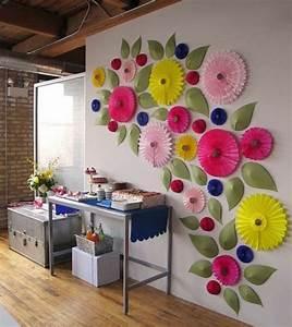 Mur De Fleurs : d corez vos murs avec le papier peint original ~ Farleysfitness.com Idées de Décoration