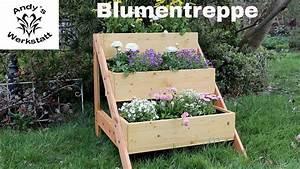 Gartenregal Selber Bauen : blumentreppe selber bauen anleitung ~ Orissabook.com Haus und Dekorationen