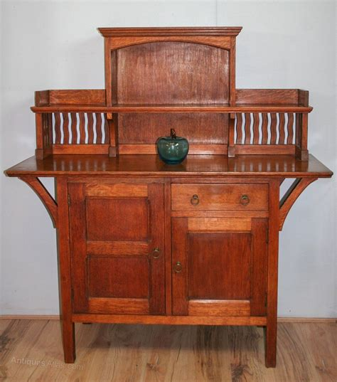 arts crafts liberty  wykeham sideboard antiques