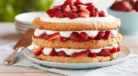 cuisine recipes strawberry shortcake recipe