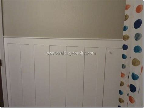 Crafty Cousins Diy Beadboardwainscoating For Less Than