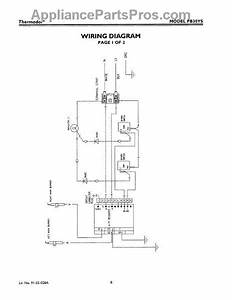 Parts For Thermador Pb30ys  Wiring Diagram Parts