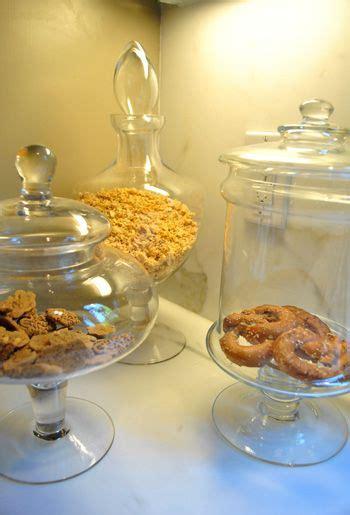 apothecary jars  dry goods   kitchendining