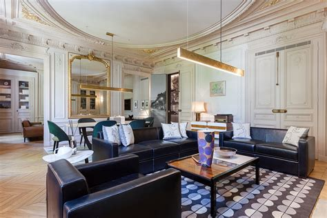 modern luxury apartment interior design  mathieu fiol
