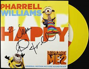 Lot Detail - Pharrell Williams Signed Despicable Me 2 ...