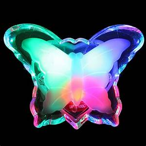 Luminous butterfly lanting led wall lamp love night light
