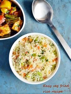 Easy Veg Fried Rice - Indian Simmer