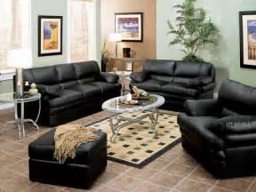 black leather decorating ideas modern leather living room furniture ideas