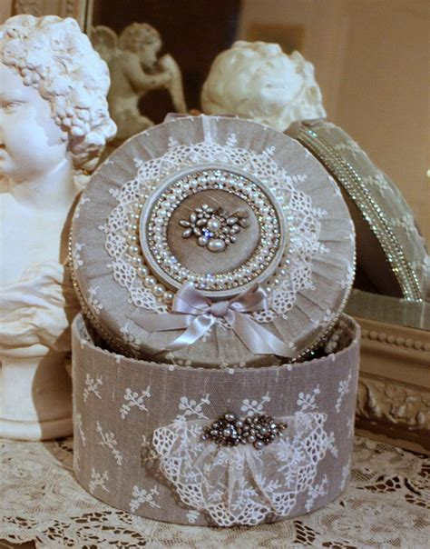 voilage ancien style dentelle 25 best altered boxes ideas on altered cigar boxes ideas shabby chic boxes and