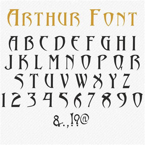 svg font svg gothic font gothic script svg  fond etsy