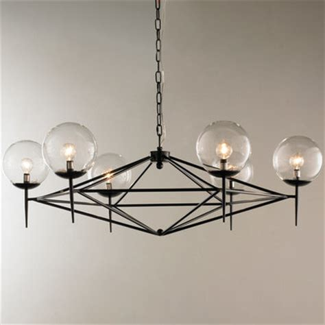 Glass Modern Chandelier by Modern Chandeliers Contemporary Globe Glass Shades