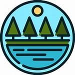 Icon Lake Nature Icons Flaticon