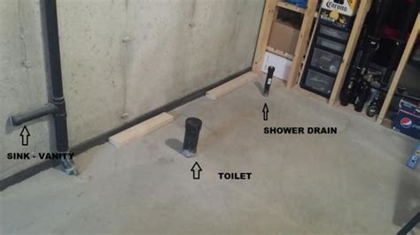 how to make a bathroom in the basement framing a basement bathroom fromgentogen us