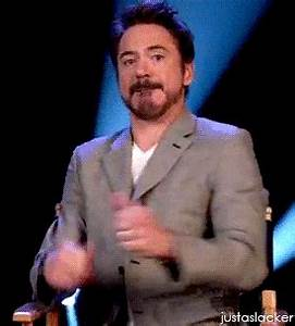 Reaction gif tagged with thumbs up, Robert Downey Jr.