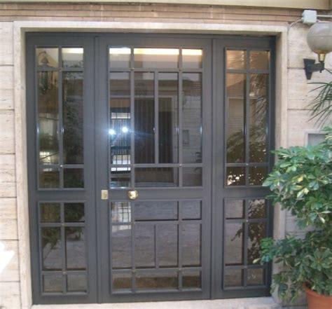 portoni ingresso condominio portone condominiale 10 roma