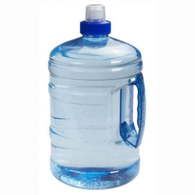 Sports Blue H2o Round Water Bottle Drink Container With