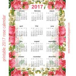Free Printable Calendars 2017 Year