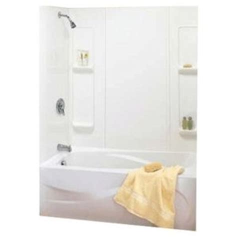 home hardware laundry tub home hardware 59 quot elan white tub wall cut to fit 80