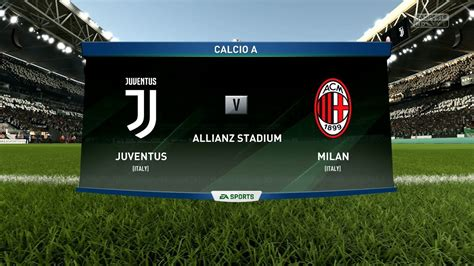 fifa  juventus  ac milan allianz stadium full