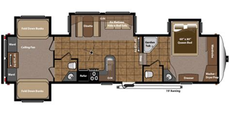 montana fifth wheel floor plans 2012 wantfacts recreationalvehicle 2013 keystone