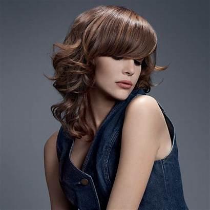 Bangs Sleek Hair Hairstyles Highlights Curls Tone