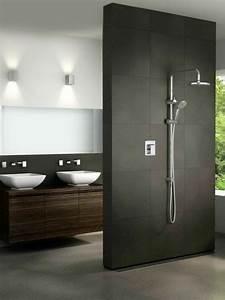 Offene Dusche Gemauert : einrichtung badezimmer ideen bilder trennwand dusche badezimmer pinterest ~ Markanthonyermac.com Haus und Dekorationen