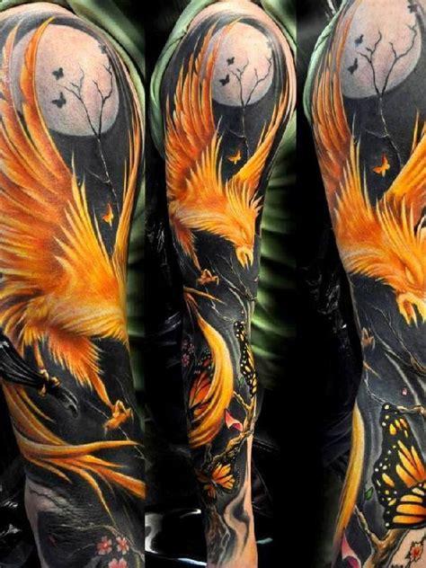 amazing phoenix tattoos