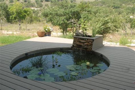 Backyard Pond Kits - garden fish pond kits backyard design ideas