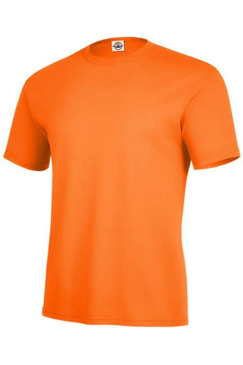Plain Orange T-Shirt - NerdKungFu