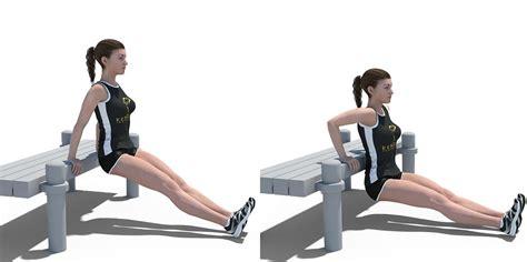 Bench Dips  Kenguru Pro Workout
