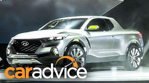 Hyundai Santa Cruz Ute Concept Reveal