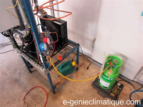 moteur pour chambre froide froid16 le 2e montage partie 3 la mise en service du