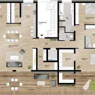 Doppelhaushälfte Grundrisse Modern by Doppelhaush 228 Lfte Grundrisse Modern