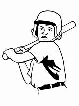 Baseball Cliparts Diamond Drawing Field Coloring sketch template