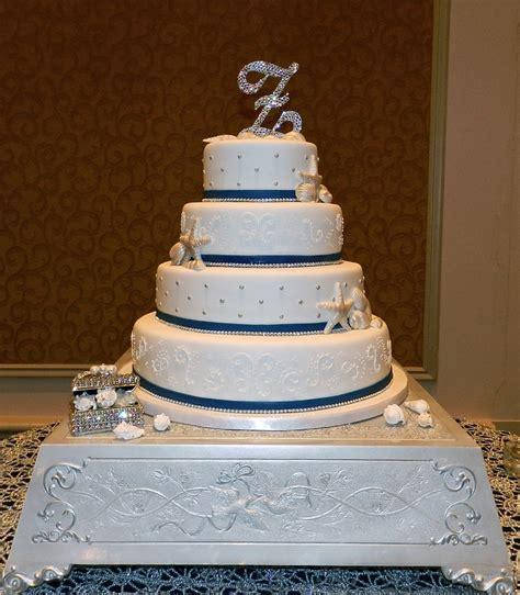 tier white elegant beach wedding cake cakecentralcom