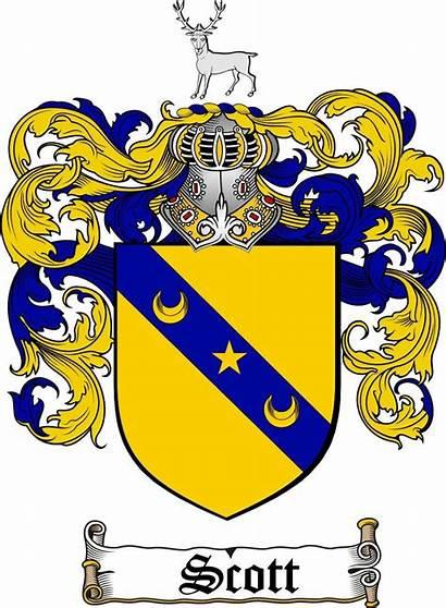Arms Coat Scott Crest Crests Scotland Carvajal