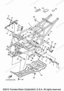 Yamaha Atv 2010 Oem Parts Diagram For Frame