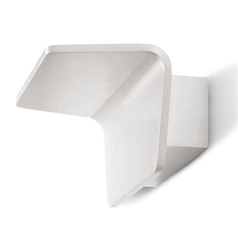 applique luce applique lada da parete a led 18w in acciaio luce calda