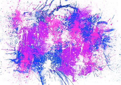 illustration painting spray brush paint