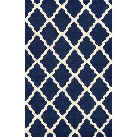 navy blue area rug nuloom trellis navy blue 12 ft x 15 ft area rug mtvs27d