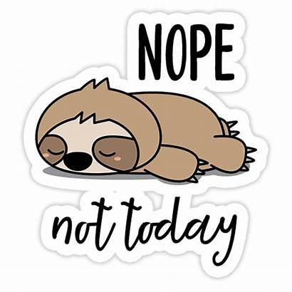 Random Planner Sticker Freebies Digital Today Nope