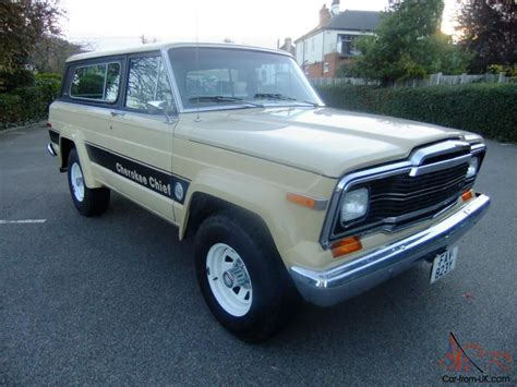 jeep chief 1979 jeep cherokee chief s 1979 4x4 v8 5 9 litre auto sj fsj