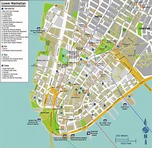 Plan De Manhattan : carte de rue de manhattan carte de manhattan avec les ~ Melissatoandfro.com Idées de Décoration