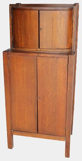mission style liquor cabinet mission oak liquor cabinet with humidor for the home