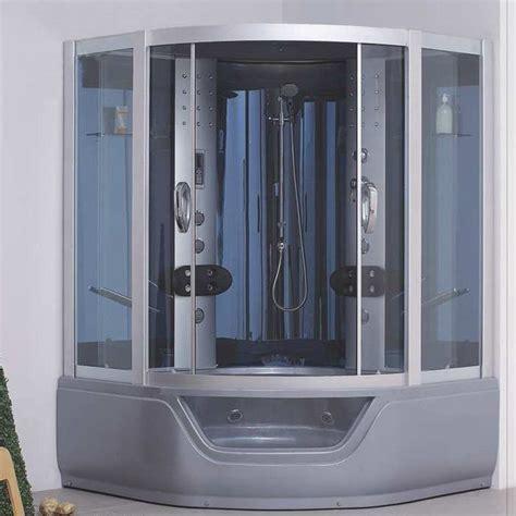 cabine doccia con sauna cabina idromassaggio per due persone con vasca combinata
