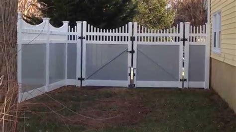 vinyl  tone grey fence  arnold youtube