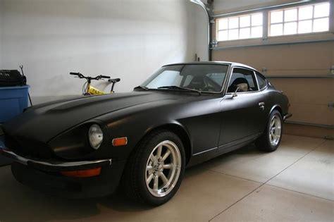 Black Datsun 240z by Satin Black 240z Datsun